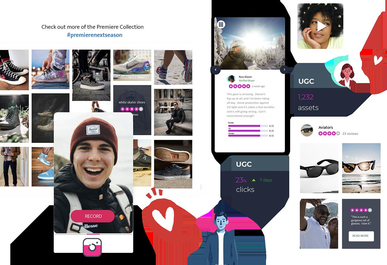 visual marketing header